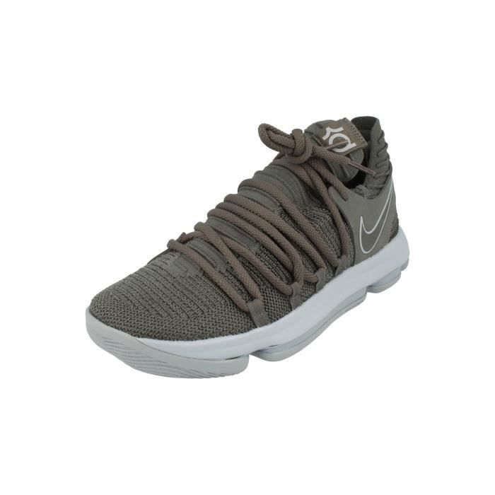 new arrivals c8b39 d450a BASKET Nike Zoom Kd10 Hommes Basketball Trainers 897815 S