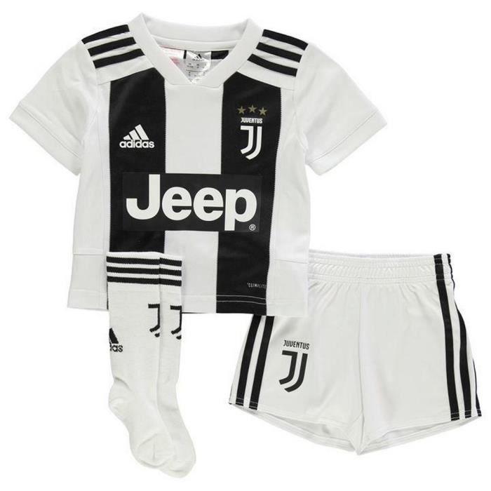 Mini-Kit Officiel Enfant Adidas Juventus de Turin Domicile Saison 2018-2019 f01fa239f268b