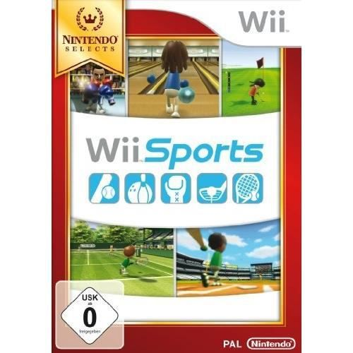 JEUX WII WII SPORTS - NINTENDO SELECTS [IMPORT ALLEMAND]…