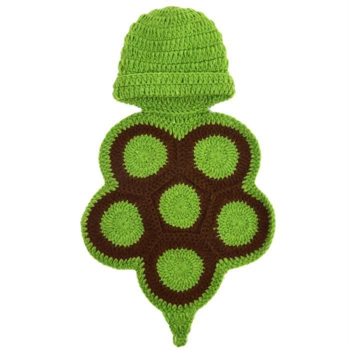 ab19c02c41867 Vbiger bébé Bonnet de laine chaude pour bébé Bonnet vêtements drôle nouveau- né en tricot pour les garçons et les filles
