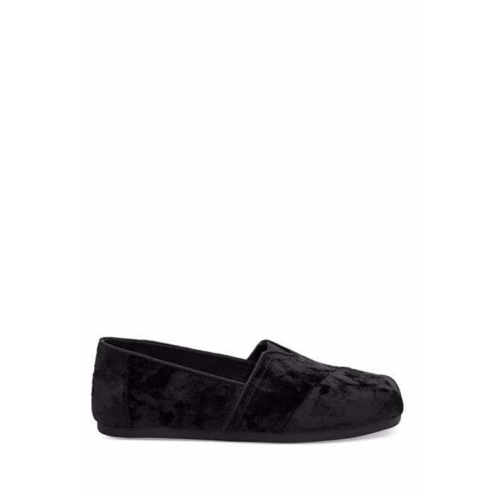 Classic Slip On Mocassins Velvet Shoe Slipper ZKRU3 Taille-41