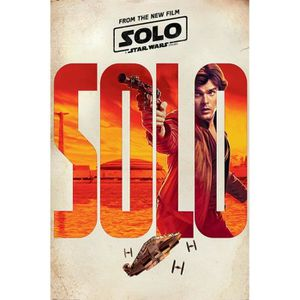 AFFICHE - POSTER Poster Star Wars - Solo: A Star Wars Story, Teaser