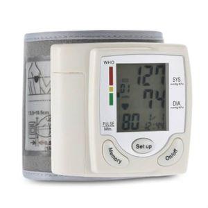 Détecteur de pression Moniteur de pression artérielle portable LCD numér