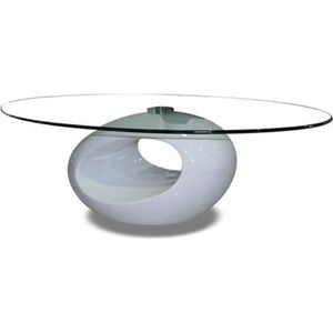 TABLE BASSE Table basse blanche - Symbiose