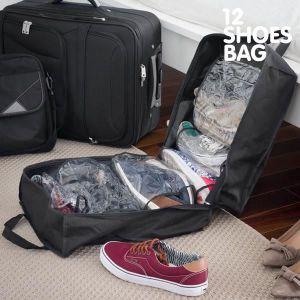 SAC À CHAUSSURES Sac de Voyage pour Chaussures 12 Shoes Bag