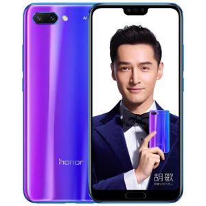SMARTPHONE HONOR 10 Bleu 4Go RAM+128Go ROM 5.84 pouces 3400mA