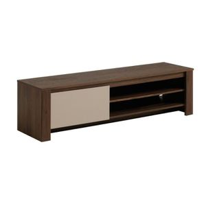 Meuble tv noyer achat vente meuble tv noyer pas cher for Prix meuble tv