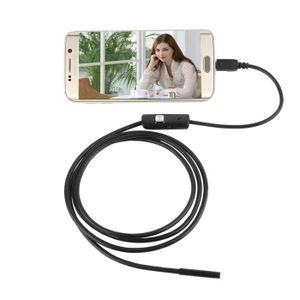 ENDOSCOPE NUMÉRIQUE Caméra d'Inspection Endoscope Etanche 1m 7mm Tube