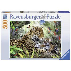 PUZZLE Puzzle 500 pcs Bébé Jaguar