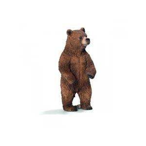 FIGURINE - PERSONNAGE Schleich Figurine 14686 - Animal sauvage - Ourse G