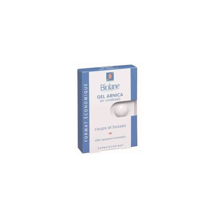 BIOLANE Gel arnica en unidoses - 12x1 ml (Lot de 3)
