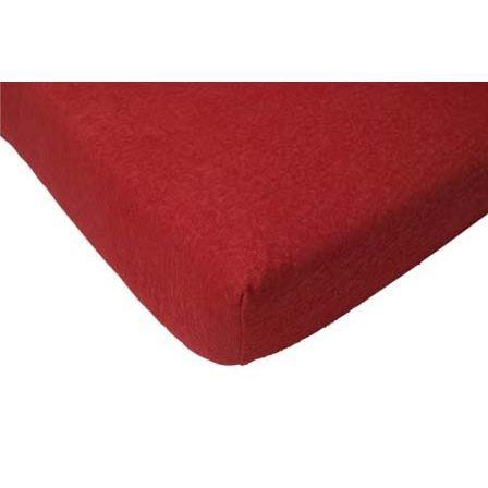 Jollein Drap housse 70 x 140 cm éponge rouge Rouge   Achat / Vente