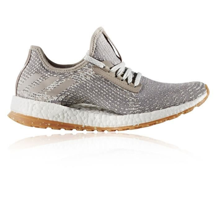 separation shoes b2bac 1f736 Adidas Pureboost X Atr Baskets Chaussures De Course Running Gris Femme