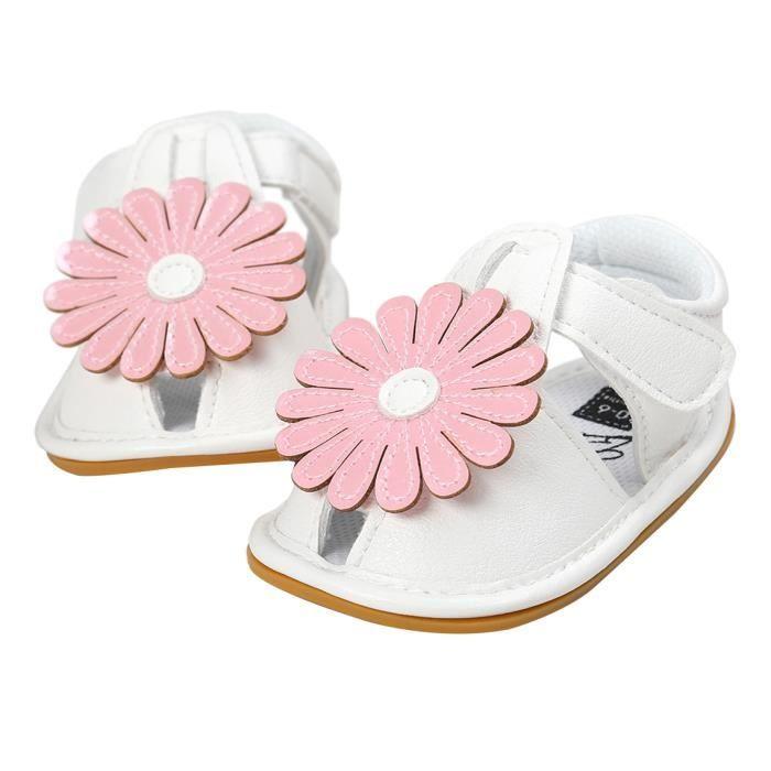 GEMVIE Sandales Bébé Fille Chaussures Flora Joli Eté HnwMKlh