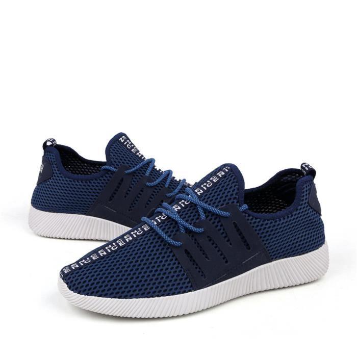 hommes Confortable Basket arrivee Plus Chaussures Taille homme Chaussure Mode de mesh de Respirant 44 39 sport Nouvelle Antidérapant 7nX66p8xt