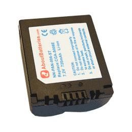 BATTERIE - CHARGEUR Batterie type PANASONIC CGR-S006E/1B