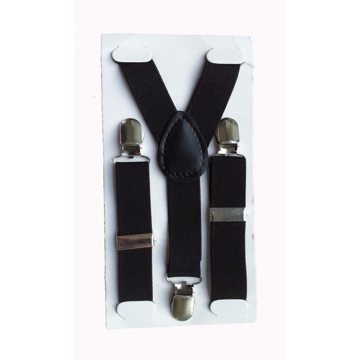 Enfant Clip sur le Pantalon Bretelles Elastiques Reglables Y-arriere  Jarretelles Ceinture 6446c3cae50
