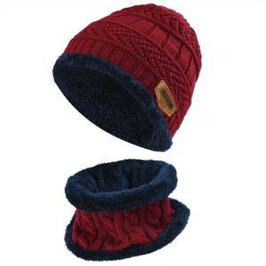 ... BONNET - CAGOULE Vbiger Bonnet d hiver Tricot Chaud Durable Pour ... 671f32788f1