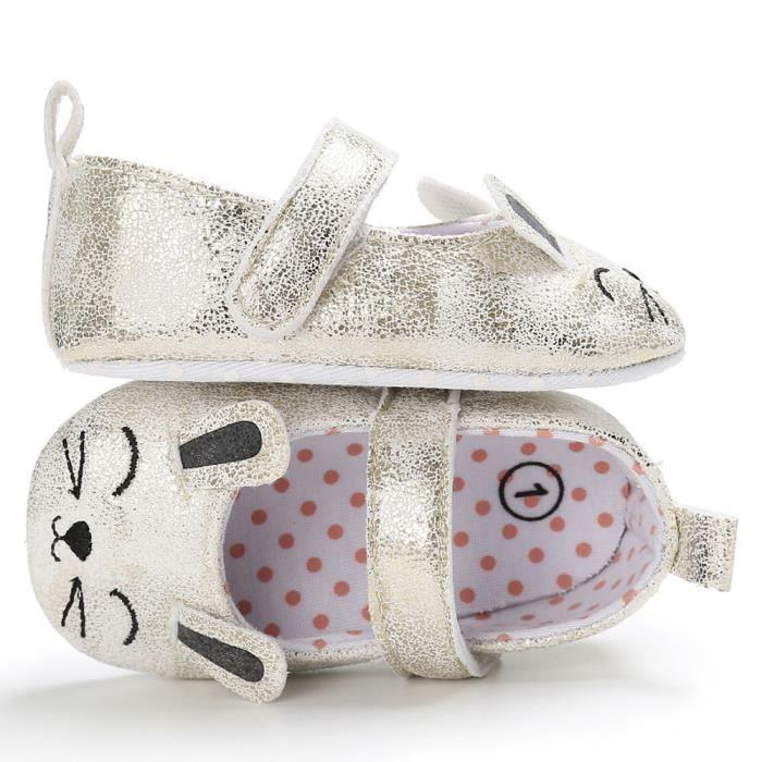 BOTTE Toddler Baby Wave Point nouveau-né modèle de chat mignon enfants chaussures à semelle souple@OrHM