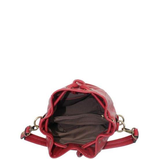 9cef096890 Sac Gil Holsters en cuir porté épaule ref_xga37572-rouge - Achat / Vente  besace - sac reporter 3613131020860 - Cdiscount
