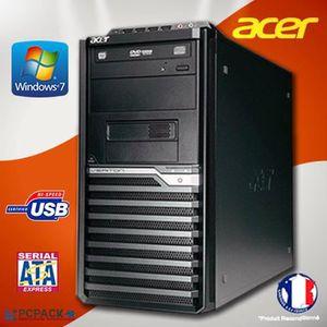 UNITÉ CENTRALE  ACER VERITON M430G TOUR AMD Athlon II X 2  RAM 4G