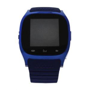 MONTRE ek-b2 montre connectee bracelet en silicone bleu m