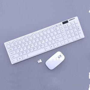 PACK CLAVIER - SOURIS Récepteur USB sans fil à clavier et souris sans fi