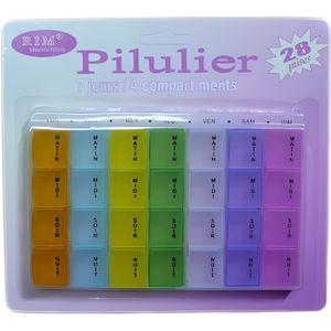 PILULIER PILULIER, Semainier, Boite à PILULES, Médicaments