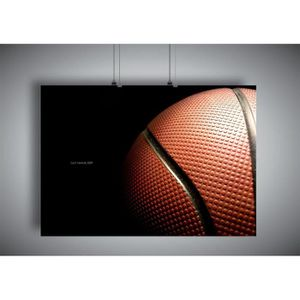 AFFICHE - POSTER Poster BASKETBALL MACRO SPORT CLASSIC HUGE 02 - A4