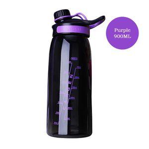 GOURDE Coupe Bouteille d'eau adulte violet