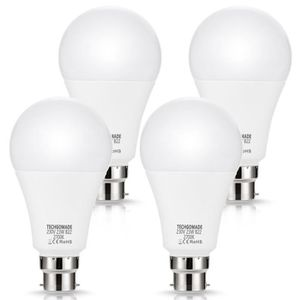 AMPOULE - LED 4 X B22 ampoules LED 23 W A65, 2500lm, Techgomade