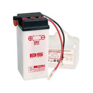 BATTERIE VÉHICULE Batterie BS BATTERY 6N4A-4D conventionnelle livrée