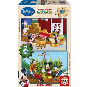 PUZZLE Puzzle 2 x 50 pcs en bois - Cendrillon