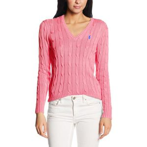 PULL Ralph Lauren Pull Femme Rose Manches Lomgues ...