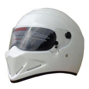 CASQUE MOTO SCOOTER Casque Moto Cross Homme-Femme Star wars Style Coul