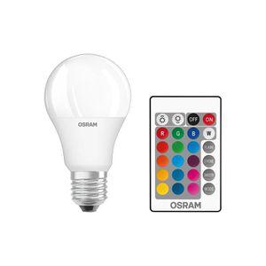 AMPOULE - LED OSRAM - Ampoule LED Couleurs RGB Télécommandée - C