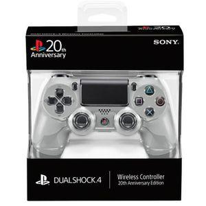 MANETTE JEUX VIDÉO Dual Shock 4 PS4 20eme anniversaire