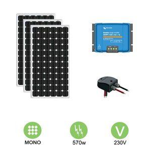KIT PHOTOVOLTAIQUE Kit solaire nautisme 570w-12v