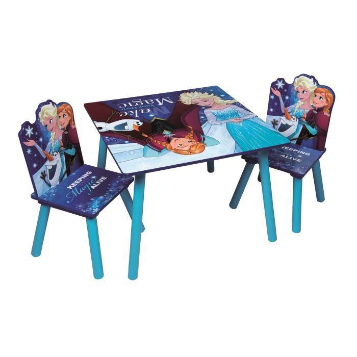 ENSEMBLE TABLE ET CHAISE BEBE