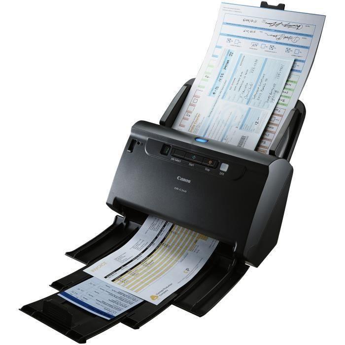 Principales caractéristiques de l'imprimante Canon Pixma MX360 : –  Multifonction avec télécopieur et chargeur automatique de documents