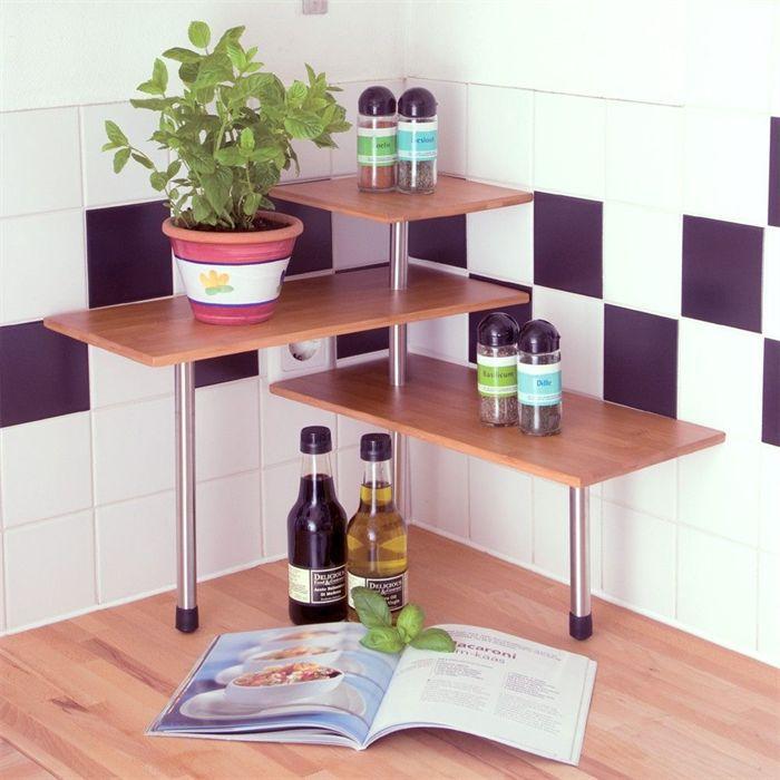 etag re de cuisine bambou achat vente meuble tag re etag re de cuisine bambou cdiscount. Black Bedroom Furniture Sets. Home Design Ideas