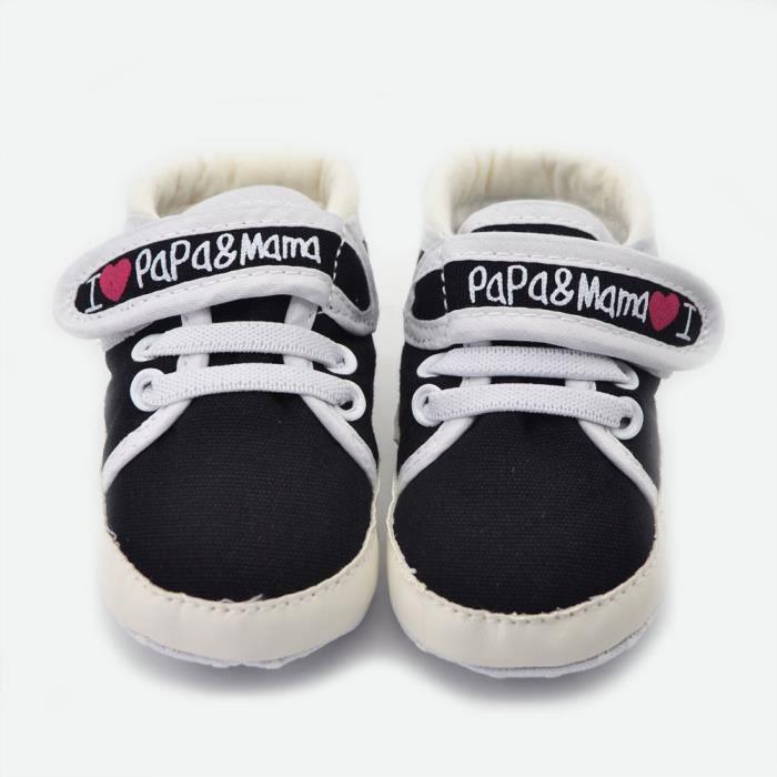 Chaussures de sport pour le nouveau-né temps 0 - 15 mois des premiers marcheurs