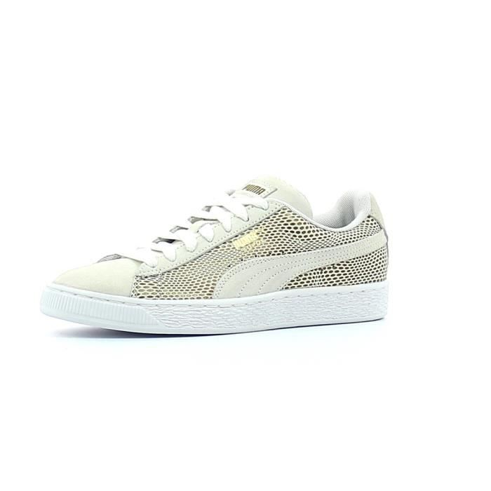 best sneakers 7223a c4624 BASKET Baskets basses Puma Suede Gold Wn s