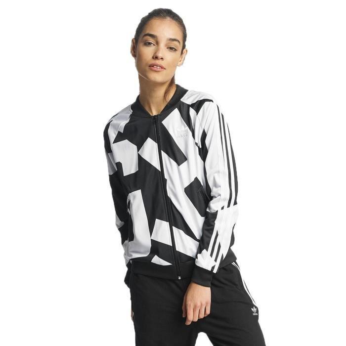 071fada92554c Adidas Femme Manteaux   Vestes   Veste mi-saison légère Superstar ...