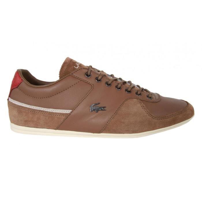 Chaussures pour Homme LACOSTE 27SRM1203 TALOIRE 013 TAN