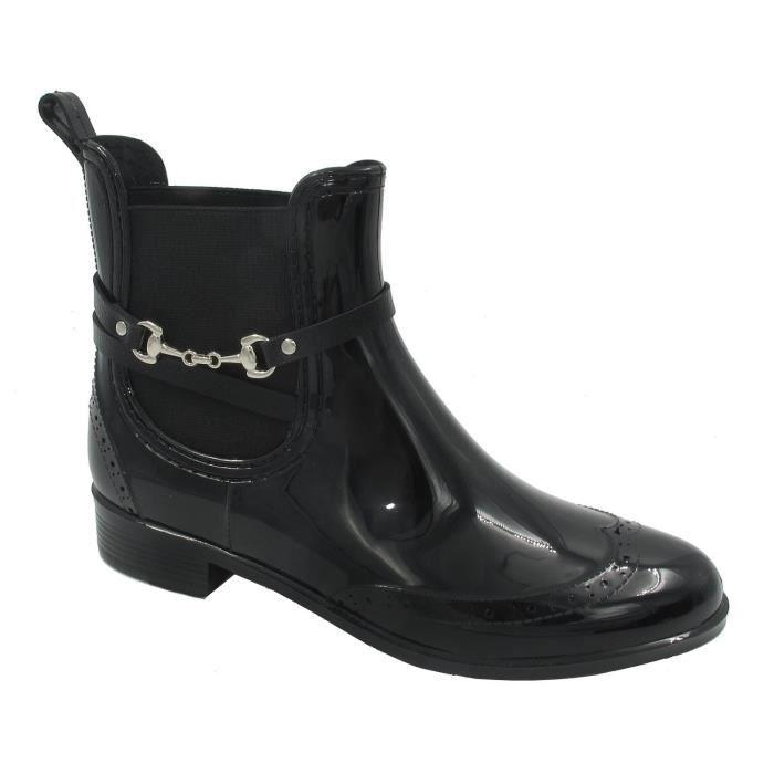 Cheville élastique Chelsea Chaussures en caoutchouc Bottes de pluie NPN9E Taille-37