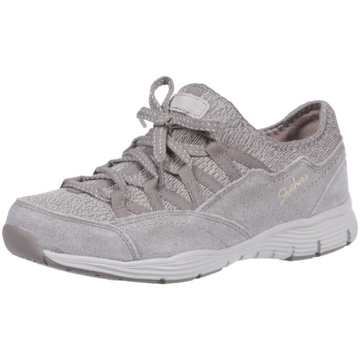 2 Quarter Slip Seager 1 Line fixed Sneaker W4wwh 37 zip Bow Fit Taille Skechers Women's on iuPlwOXkZT