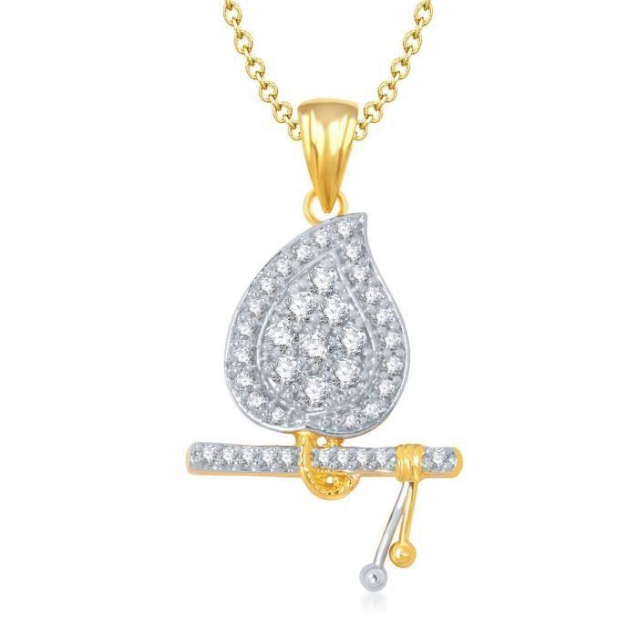 Pendentif plaqué or pour or gp139 des femmes AALPH