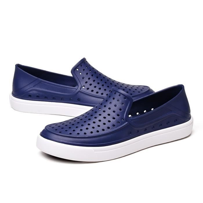 Respirant Slip-on Chaussures Chaussures loafer imperméables pour hommes viQltarilU