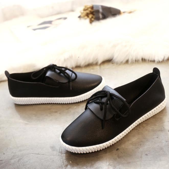 Souple Benjanies De Chaussures Casual noir Femmes Nouvelles En Cuir Mocassins Flats Loisirs nURwXB